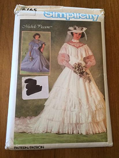 Amazon.com: Simplicity 6765 Sewing Pattern, Misses\' Brides\' or ...