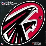 """Atlanta Falcons MEGA Style Logo 12"""" Magnet Heavy Duty Auto Home NFL Football"""