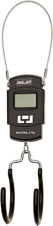 XLC 2503617500 Báscula de Gancho Digital TO-S77, Negro