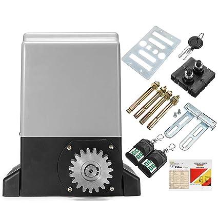 Amazon com: 220V 750W Electric Sliding Gate Opener Automatic