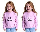 1Plus 1 Twins Toddler Long Sleeve Sweatshirt Twin