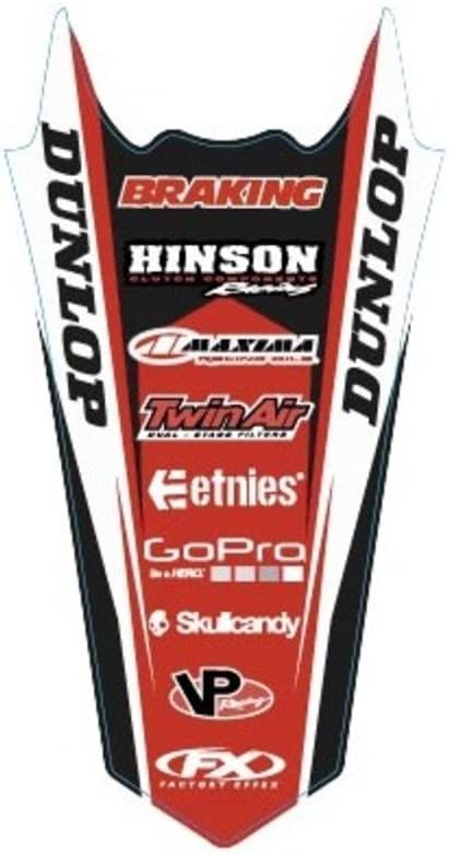 Rear Fender Graphic 17-32304 Factory Effex