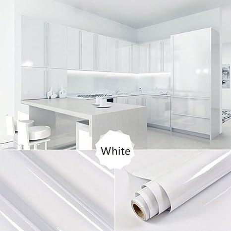 JiaMeng Decoración del hogar, 13 Tipo Color Brillante Muebles restaurados Pegatinas decoración de Papel Tapiz extraíble PVC