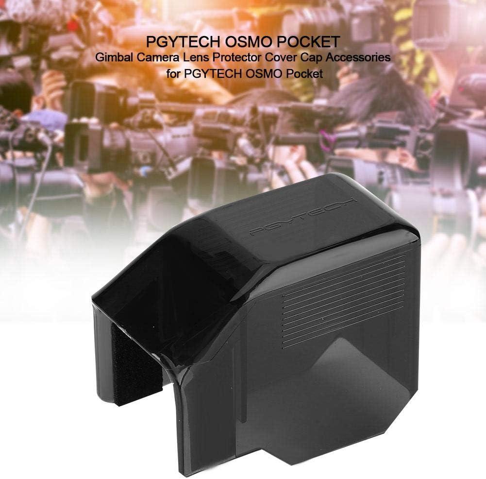 Black Acouto Camera Lens Protector Gimbal Camera Lens Protector Cover Cap Accessories for PGYTECH OSMO Pocket