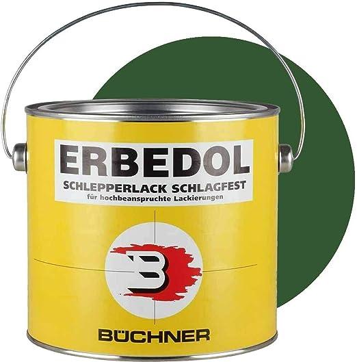 Schlepperlack Fendt GrÜn 2 5 Liter Traktor Trecker Frontlader Lackieren Farbe Restaurieren Schnelltrocknend Deckend Lack Lackierung Baumarkt