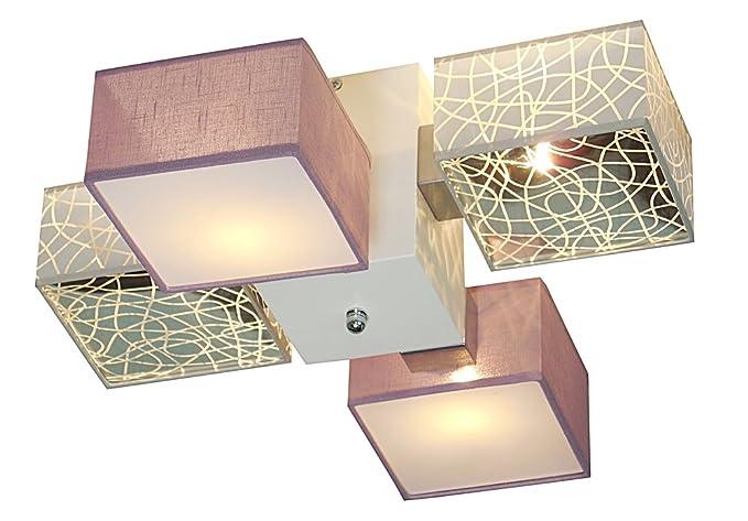 Lámpara de techo - WeRo lámpara de barsa 002 C - Plafón ...