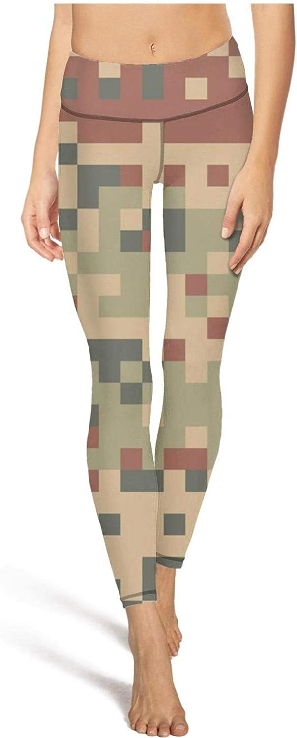 Gym Yoga Pants for Womens Pink camo Seamless in a Blue Sport Workout Running Legging Girls Tights