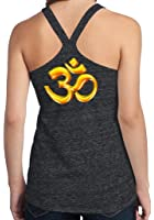 Yoga Clothing For You Ladies 3D OM T-back Tank Top