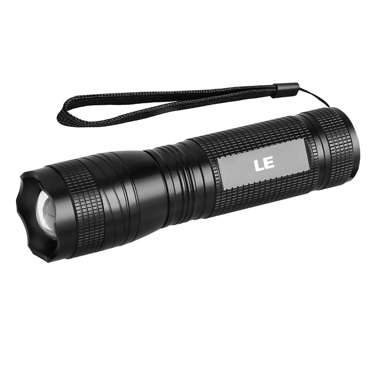 LE Taschenlampe mit UV Licht 300lm Kaltweiß und 395nm UV-Strahler ...