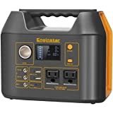 Enginstar 300Watt Portable Power Bank with AC Outlet for Outdoors Camping Travel Hunting Emergency 80000mAh Power Supply for