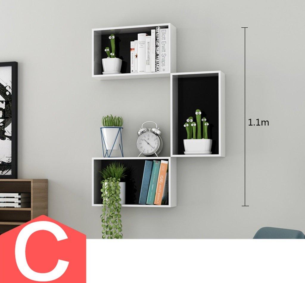 CB Auf dem Wand-Regal, Gitter-Rack TV-Hintergrund-Wand-Rahmen ...