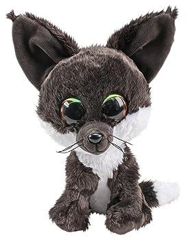 Lumo Stars Fox Noki Animales de Juguete Felpa Gris, Blanco - Juguetes de Peluche (