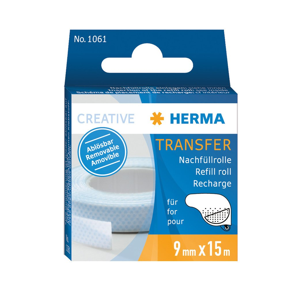 Hermafix Non Permanent Photo Mounting Adhesive *Refill* (5cm x 5cm) 1061