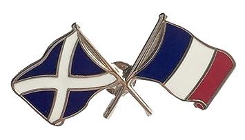 Francia y bolas de cristal de Escocia de la bandera de escudo del Real Mallorca