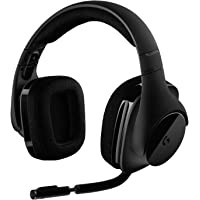 Logitech Gaming Wireless Headset, Black - G533