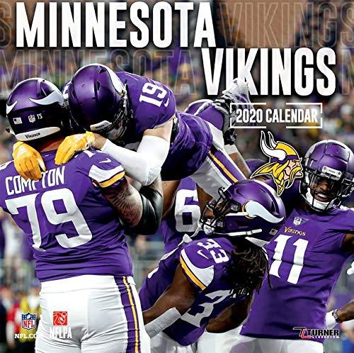 Minnesota Vikings 2020 - Calendar Vikings Minnesota Wall