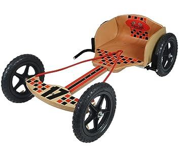 Toyrific - ty5807 niños Kids Redline Corredores de Madera GO Kart: Amazon.es: Juguetes y juegos