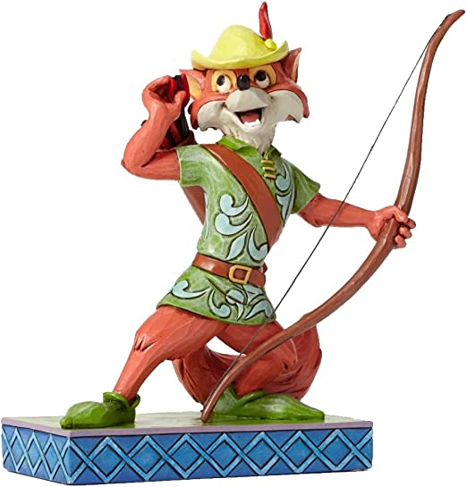 Jim Shore Disney Roguish Hero Robin Hood Bow and Arrow Fox Figurine 4050416 New