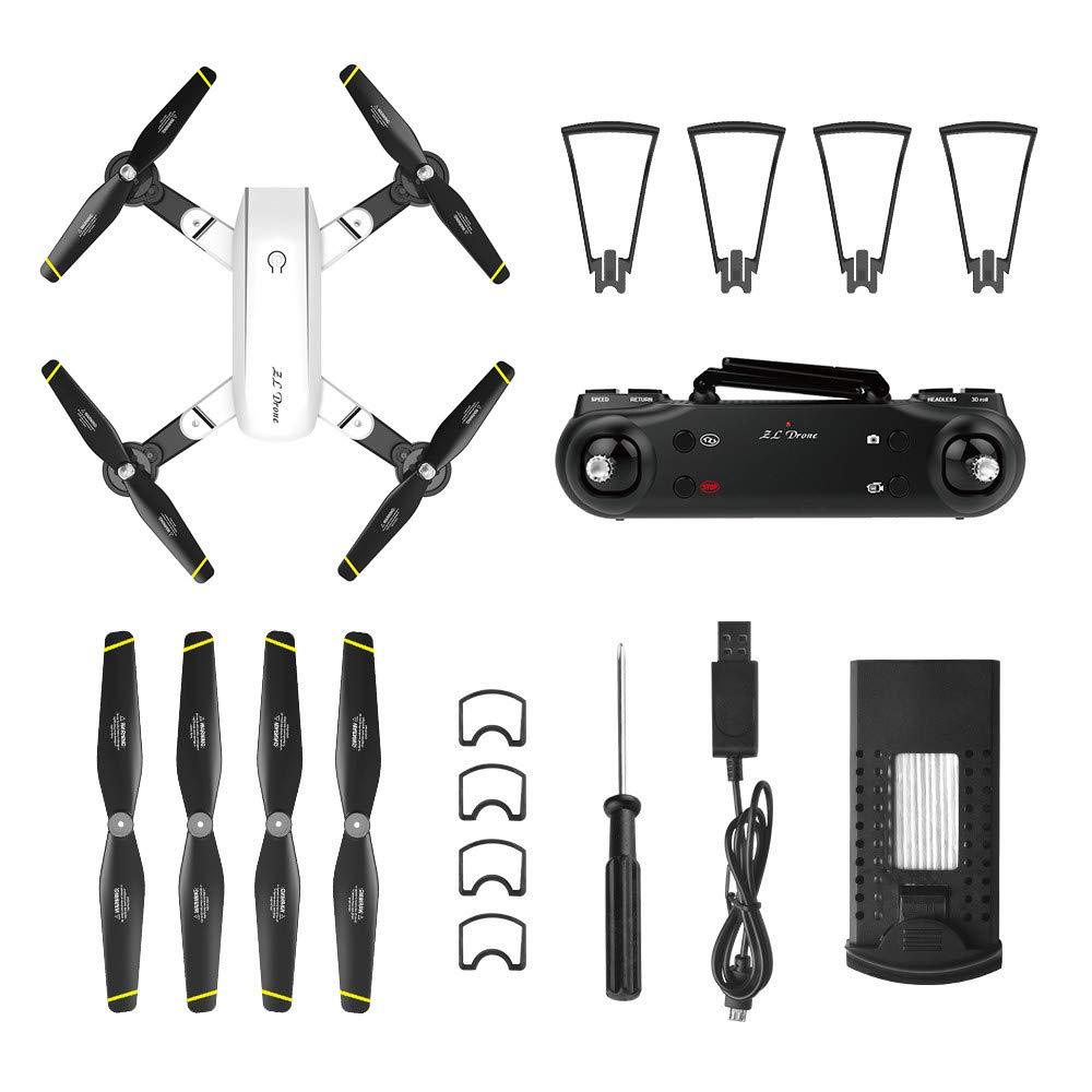 QHJ Drone SG700-D 2.4Ghz 4CH Wide Angle WiFi 720P Optical Flow Dual Camera RC Quadcopter