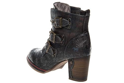 Mustang Shoes Stiefeletten in Übergrößen Navy 1287 505 820