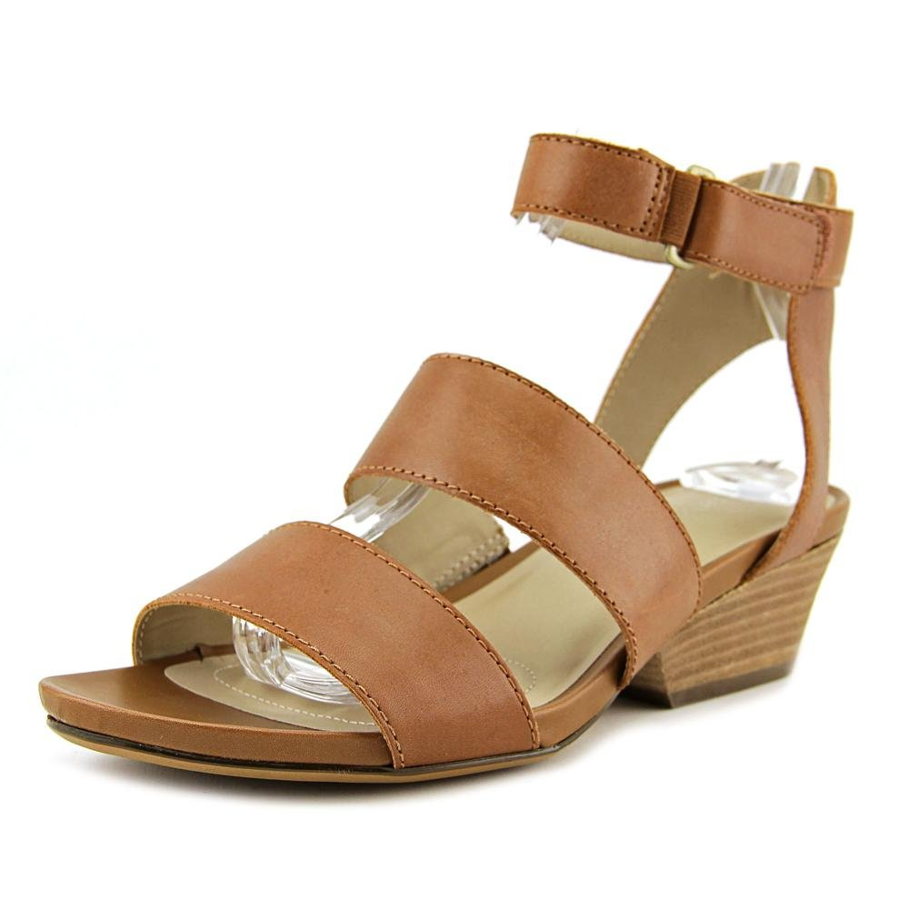 Saddletan Leather Naturalizer Womens Gracelyn Heeled Sandal