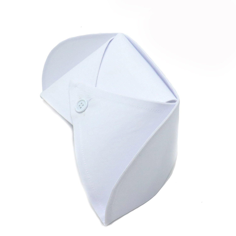 Zhcoy 2 Pcs Nurse Hat Headband Nurse Cap Costume White
