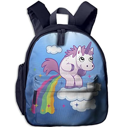 Pooping Unicorn Design Schoolbag For Girls Boys Backpack Kids Bag Childeren  School Rucksack  Amazon.ca  Home   Kitchen a22644e2b6