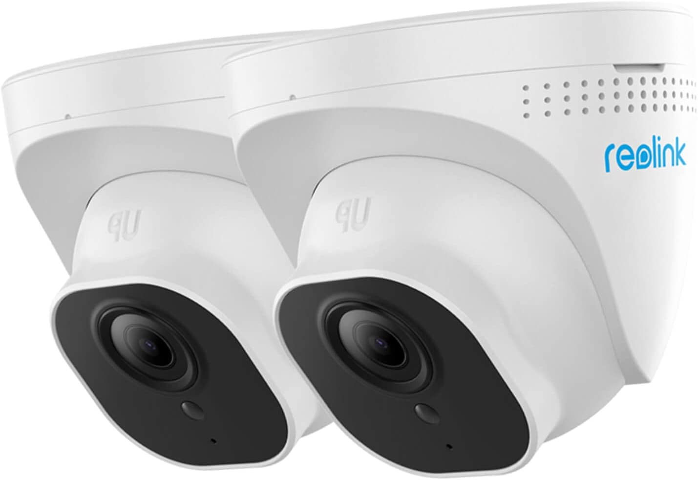 Reolink 5MP Caméra PoE Extérieure Caméra IP Dôme avec Fente pour Carte...