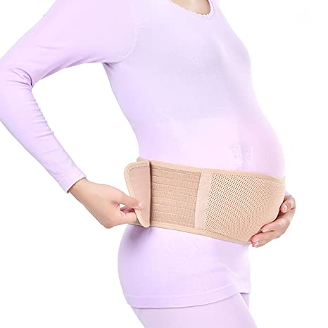 superior Double strap Maternity Support belt back posture support Small Hip size 81-96cm 32-38