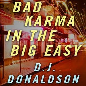 Bad Karma in the Big Easy Audiobook