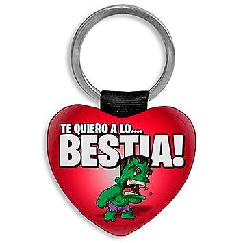 Diver Bebé Llavero corazón Personalizable con Nombre Hulk te ...