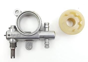 Bomba Aceite Cadena y tornillo sin Fine motosierra zenoah G2500/G3300/G3800/gz3500