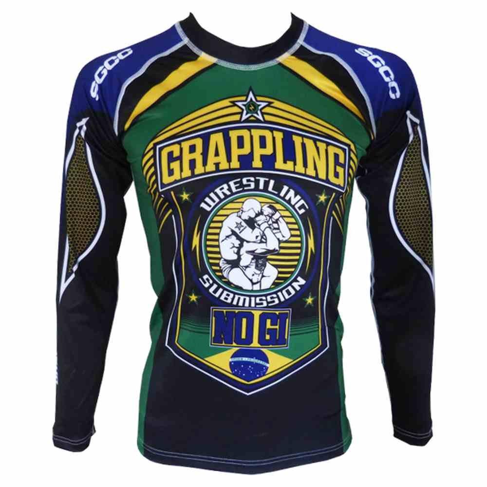 Rashguard Grappling No Gi Brazil