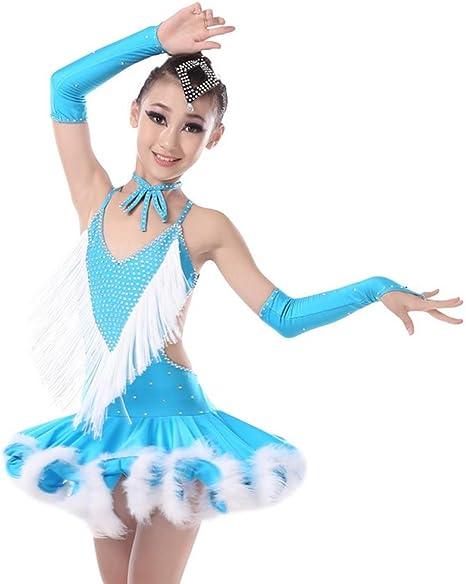 gbdsd Niños Latin Dance Disfraz Adulto Samba Performance Ropa ...