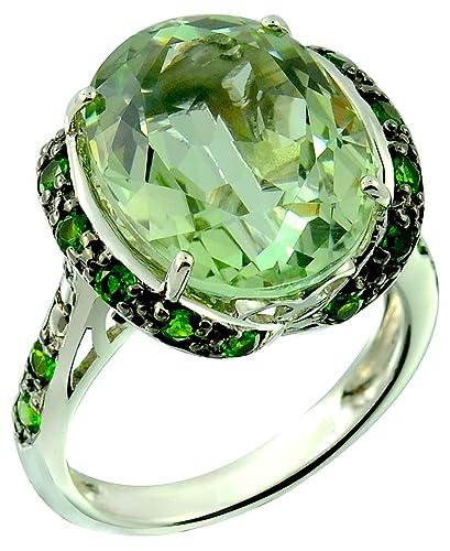 Amazon.com: RB Gems - Anillo de plata de ley 925 con piedra ...