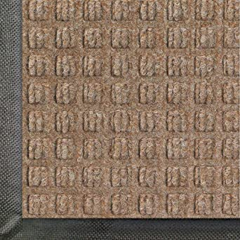 Andersen WaterHog Classic Polypropylene Fiber Entrance Indoor/Outdoor Floor  Mat, SBR Rubber Backing,