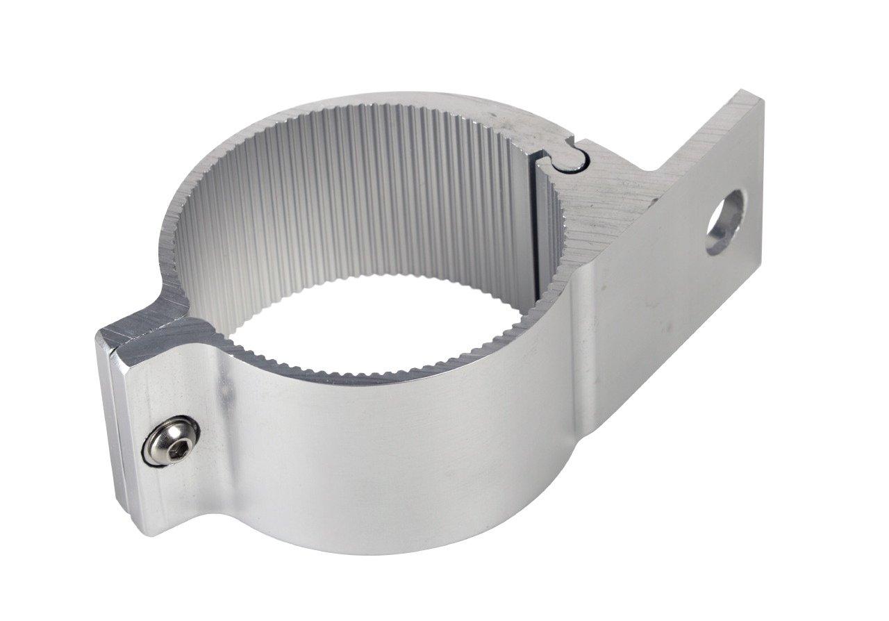 /Überrollb/ügel etc Universell passende Aluminium-Rohrschelle /ø 60 bis 63mm f/ür Lampenb/ügel Frontb/ügel 60-63 mm.