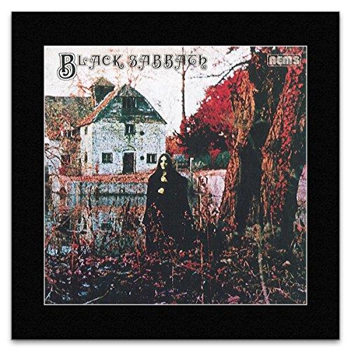 BLACK SABBATH - Album Cover 1970 Mini Poster - 18.6x18.6cm