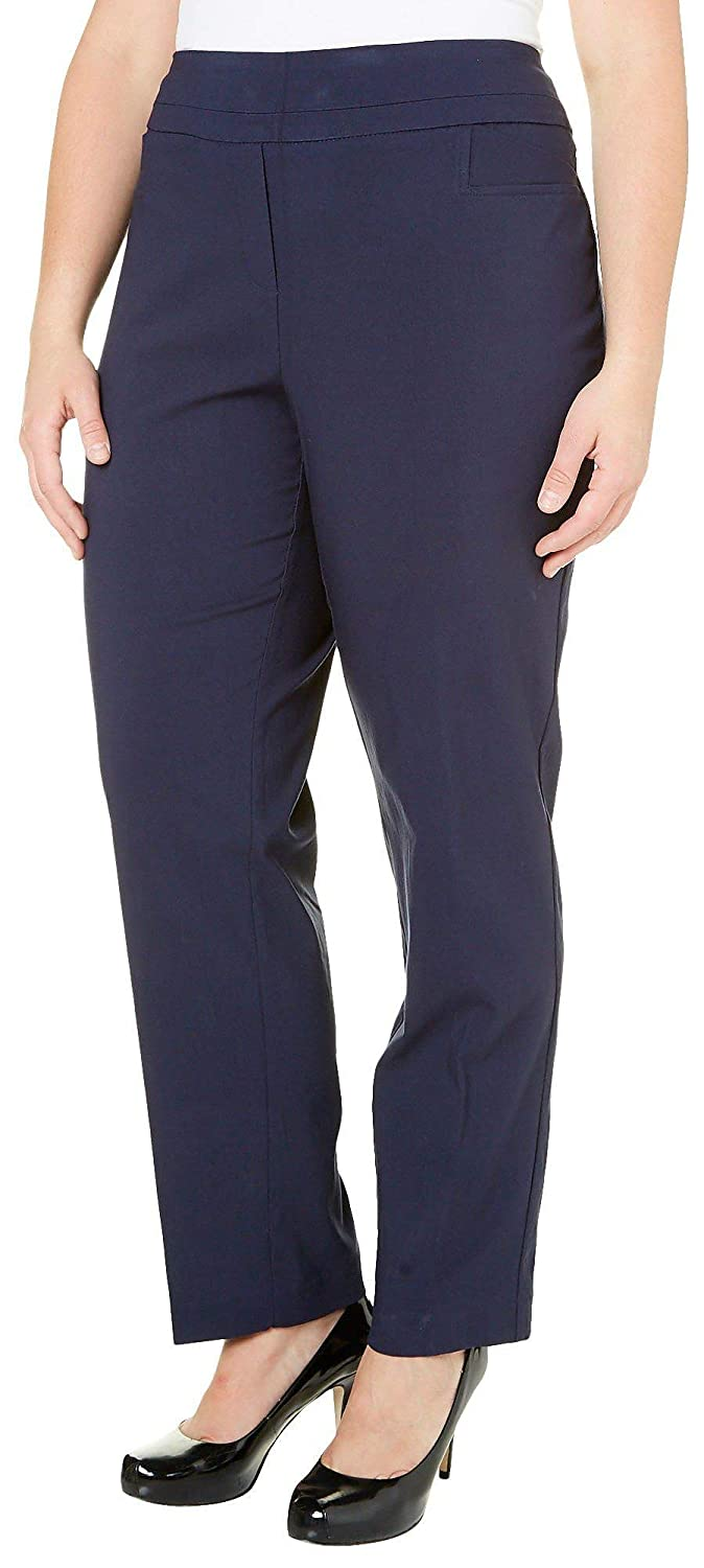 f7f210eeef25c4 Zac & Rachel Plus Pull-On Pants at Amazon Women's Clothing store:
