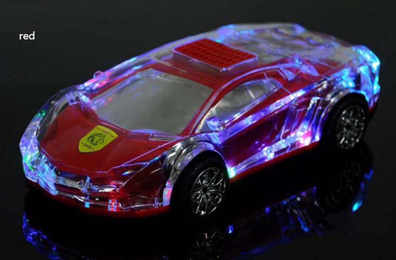 Amazon Com Hzhy Bluetooth Speaker Sports Car Light Flashing