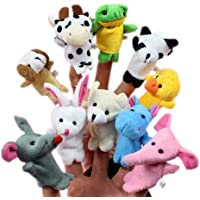 Beauty DIY Mart Lomire 10pcs Juguetes Marionetas Animales