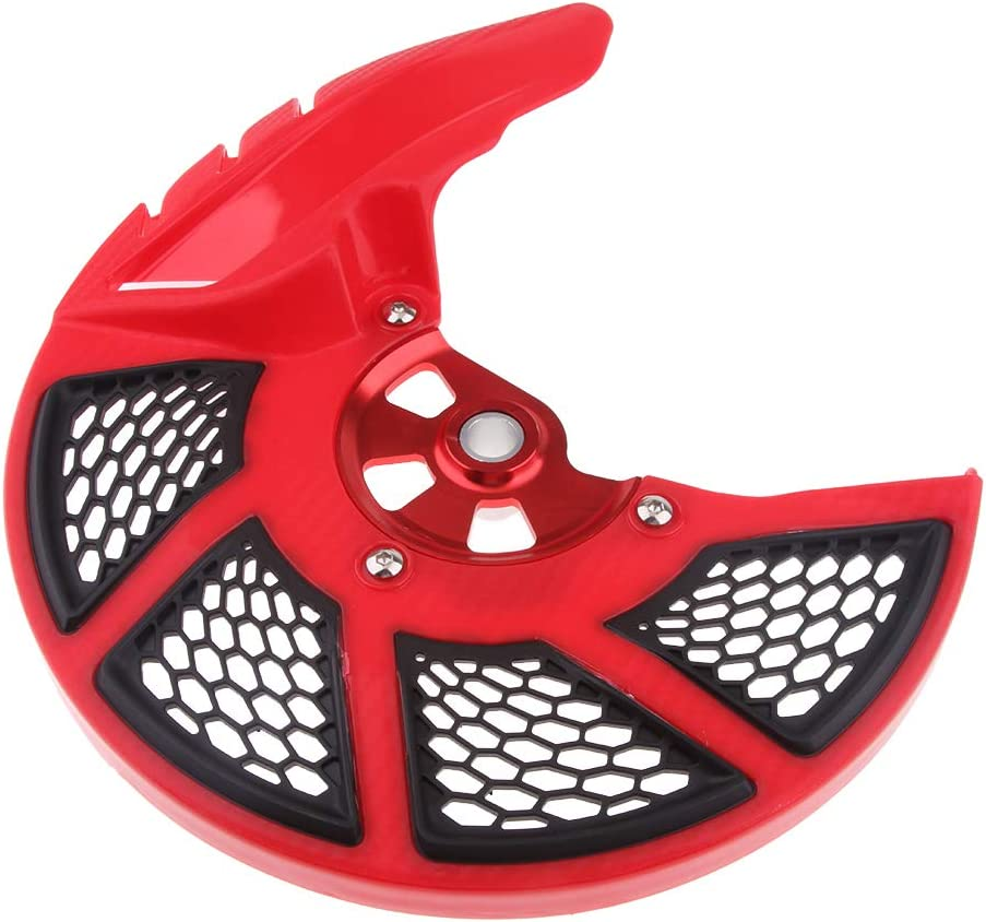 Front Brake Disc Guard Protector Cover For HONDA CRF250L CRF250M 12-16 Black