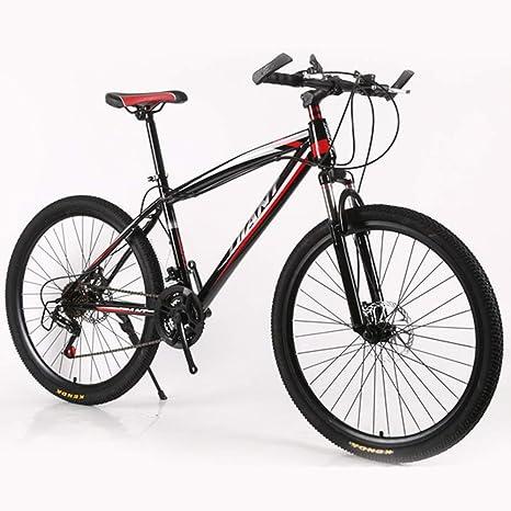 LISI 26 Pulgadas Bicicleta de montaña Redonda Doble Freno de Disco ...