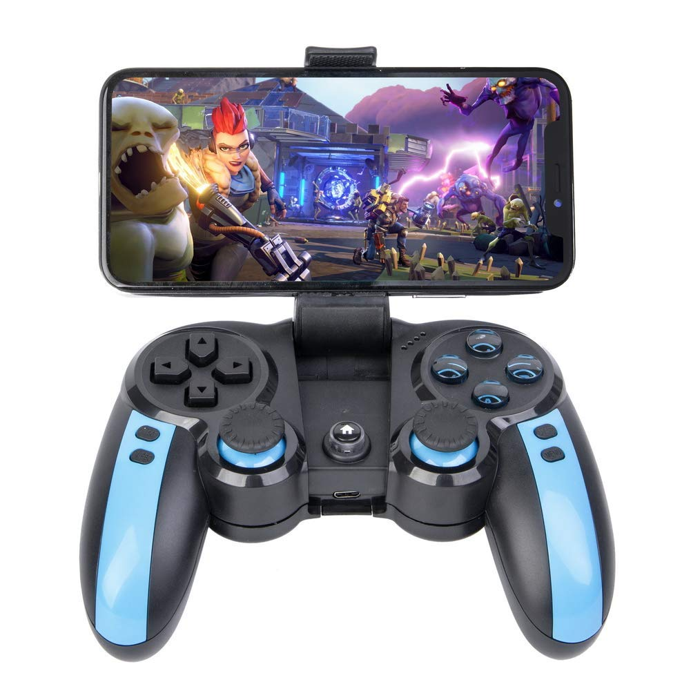 Joystick Gamepad with Bluetooth Wireless Controller Gamepad Compatible with iPhone Android OS Windows PC TV Box Xbox 2.4G Dongle