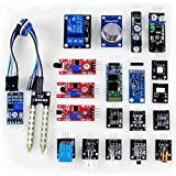 CJRSLRB 20pcs/lots Raspberry pi 2 B + sensor module Board package 20 kinds of sensor Set Learning kit