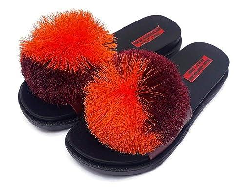 AMERICAN Multi Colour Rubber Slippers