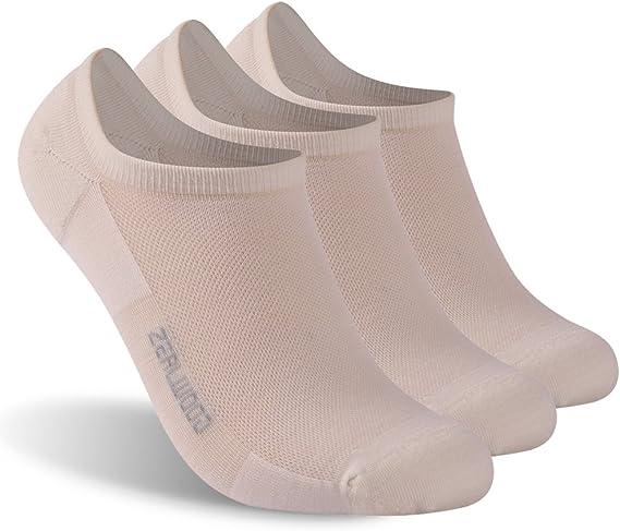 Amazon.com: ZEALWOOD Calcetines deportivos unisex de lana de ...