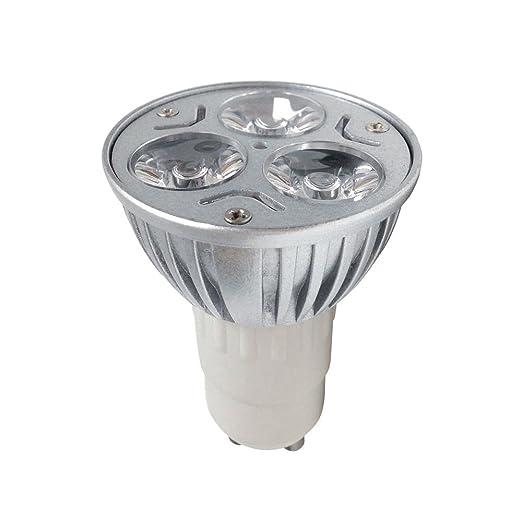 S`luce GU10 HighPower - Bombilla LED (3 puntos de luz, 1 W
