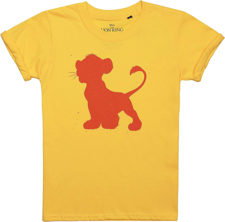 Disney Simba Silhouette T-Shirt Bambina