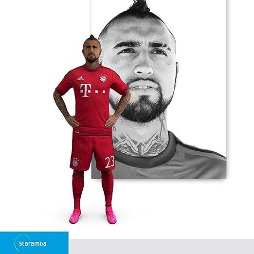 Staramba Arturo Vidal figura 3D - FC Bayern München